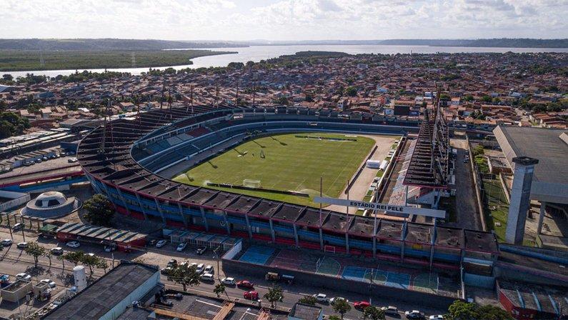 Estádio Rei Pelé, palco de CSA x Botafogo