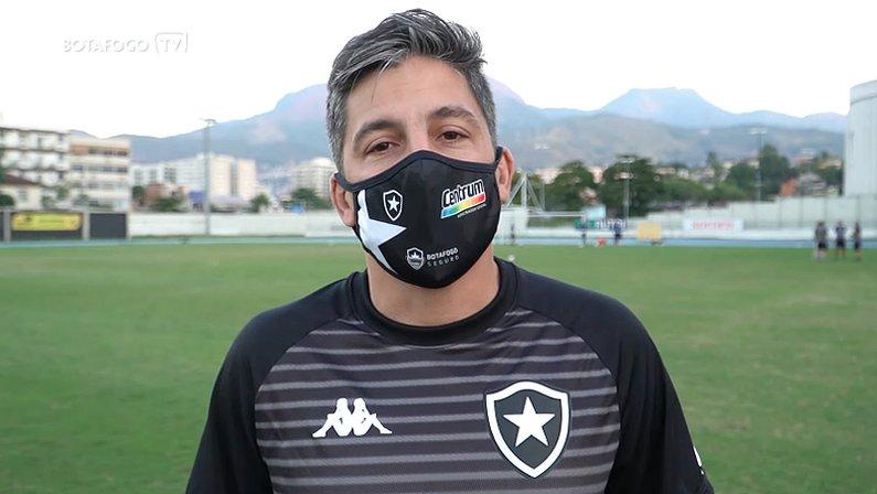 Fábio Eiras, novo coordenador do Núcleo de Saúde e Performance do Botafogo