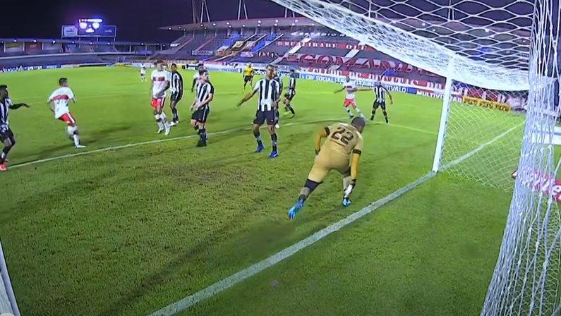 Gol de Marthã - CRB x Botafogo