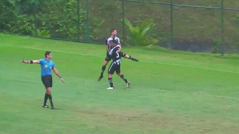 Gol do Henrique Luro - Botafogo x Sport - Campeonato Brasileiro Sub-20