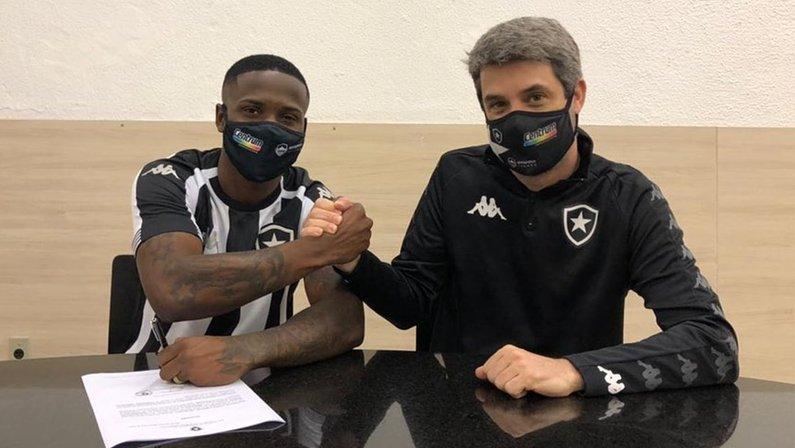 Jonathan e Eduardo Freeland - Botafogo