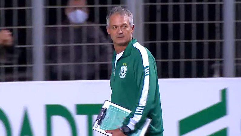 Lisca em América-MG x Corinthians | Copa do Brasil 2020