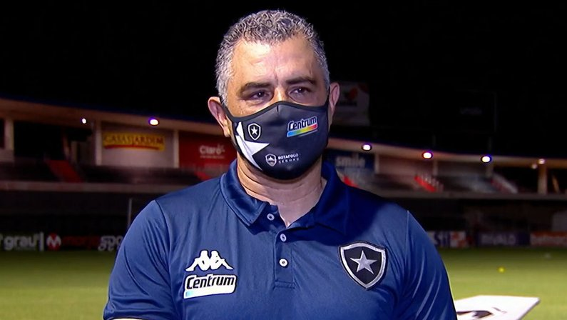 Marcelo Chamusca - CRB x Botafogo