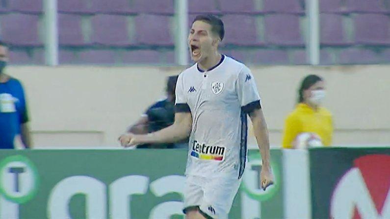 Gol de Romildo em Confiança x Botafogo | Série B do Campeonato Brasileiro 2021