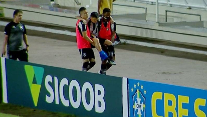 Ronald em CRB x Botafogo   Série B do Campeonato Brasileiro 2021