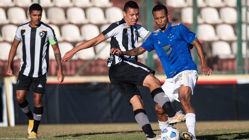 Ewerton - Cruzeiro x Botafogo - Campeonato Brasileiro Sub-20