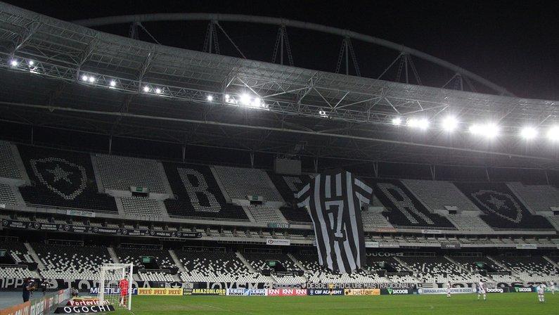 Botafogo confirma volta da torcida no Estádio Nilton Santos no jogo contra o Sampaio Corrêa