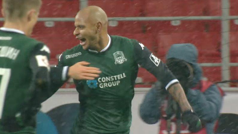 Ari, jogador do Krasnodar, especulado no Fortaleza e Botafogo