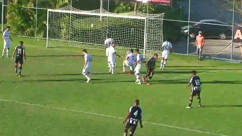 Gol de Gabriel Conceição - Botafogo x Santos