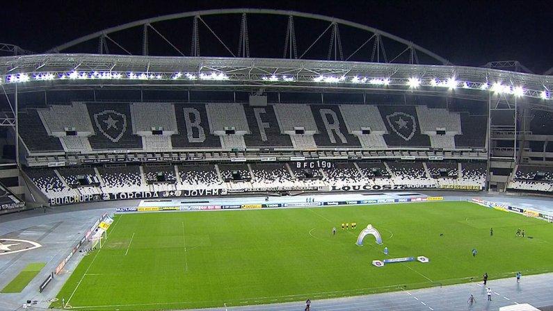 Estádio Nilton Santos (Engenhão) - Botafogo x Brasil-RS - Série B