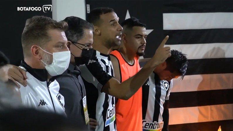 Gilvan - Bastidores Botafogo x Vasco