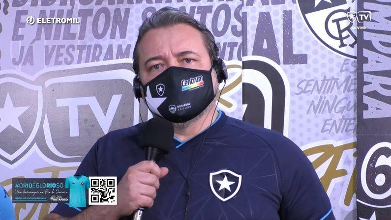 Jorge Braga, CEO do Botafogo
