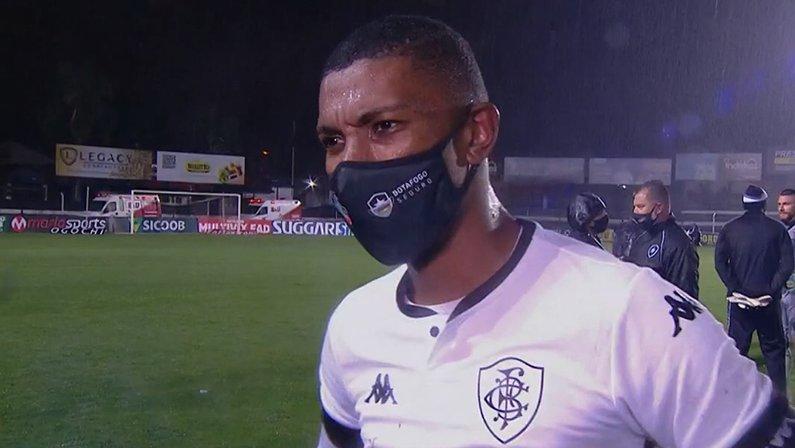 Kanu em Operário x Botafogo   Série B do Campeonato Brasileiro 2021