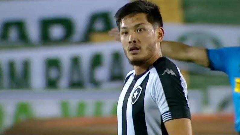 Luís Oyama em Guarani x Botafogo   Série B do Campeonato Brasileiro 2021