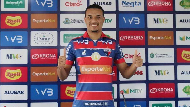 Luiz Henrique, do Fortaleza, é alvo do Botafogo