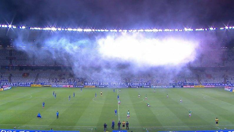 Cruzeiro x Confiança com público no Mineirão - Série B