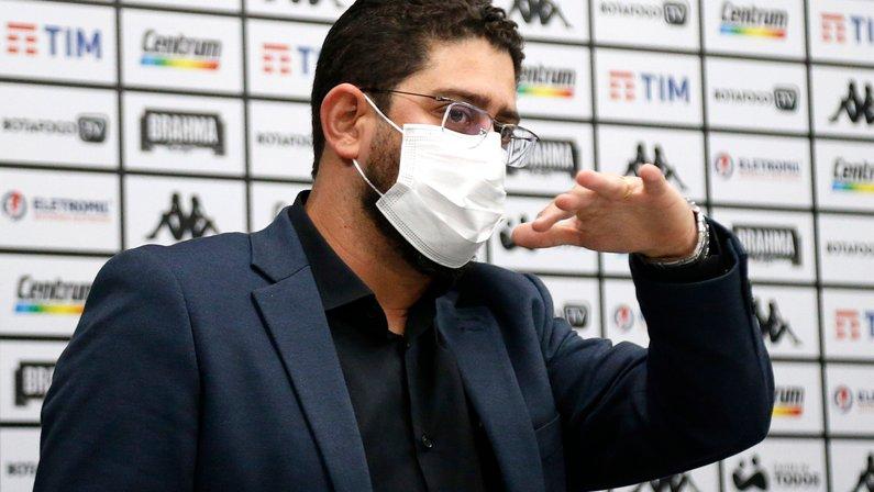 Lênin Franco detalha operação para volta da torcida do Botafogo ao Nilton Santos e quer evitar prejuízo