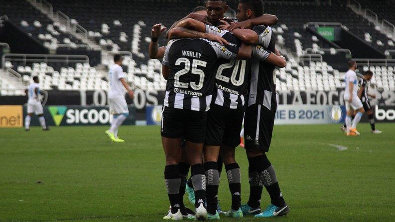Elenco - Botafogo x Londrina - Série B