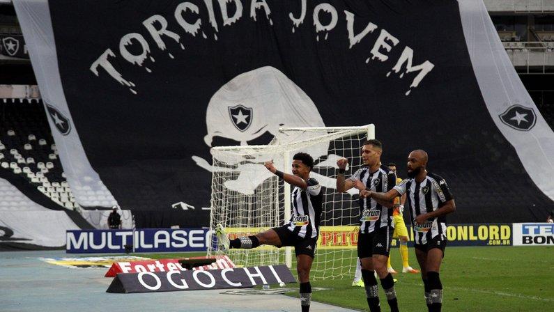 Botafogo alcança melhor colocação em interações semanais no Twitter na história