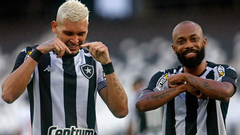 Após vitória, Botafogo se torna time com o melhor ataque na Série B do Brasileirão