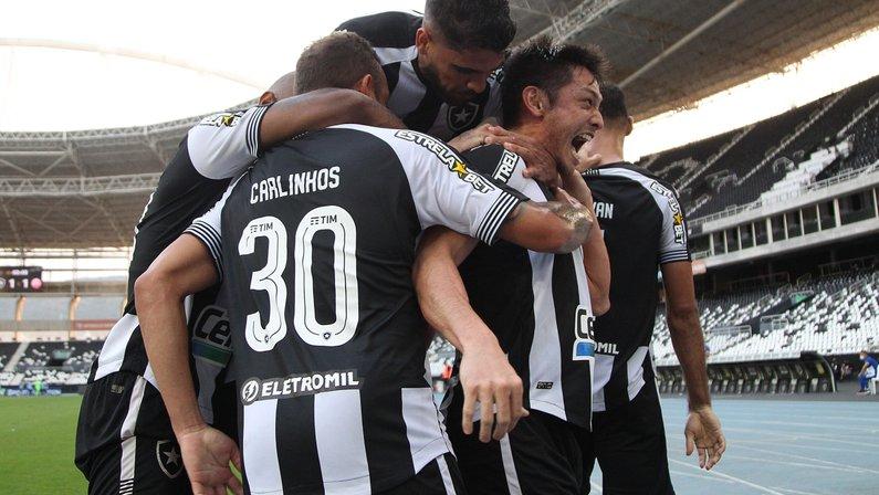 Escalação do Botafogo: Luís Oyama e Diego Gonçalves devem ser as novidades contra o CSA