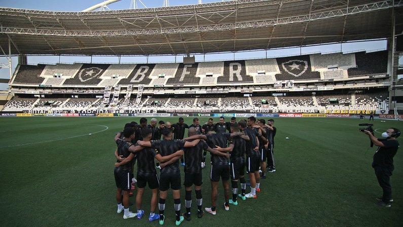 Elenco - Botafogo x Náutico