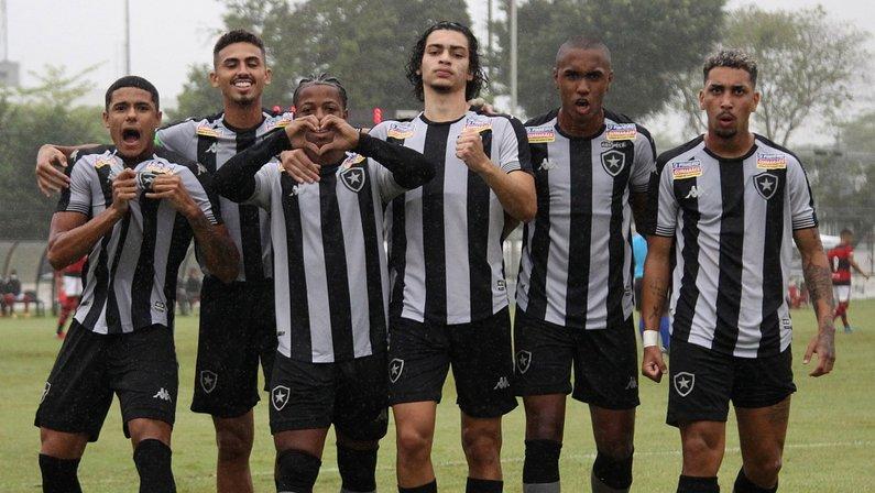 Com bom desempenho, Sub-20 do Botafogo mira classificação entre os oito primeiros no Brasileirão