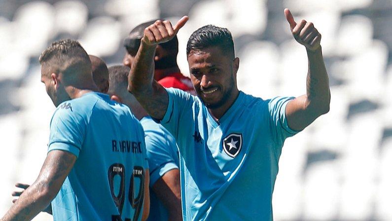 Diego Gonçalves em Botafogo x Vila Nova   Série B do Campeonato Brasileiro 2021