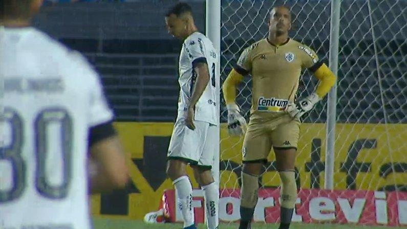 Falha de Diego Loureiro em CSA x Botafogo | Série B do Campeonato Brasileiro 2021