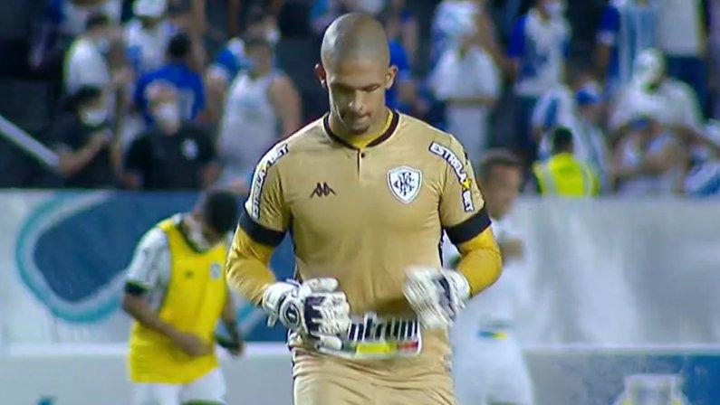 Diego Loureiro em CSA x Botafogo | Série B do Campeonato Brasileiro 2021