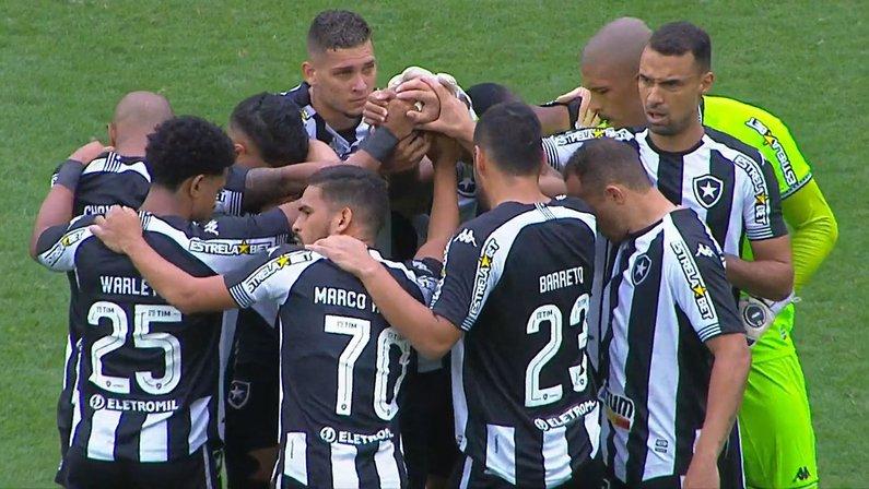 Elenco - Botafogo x Londrina