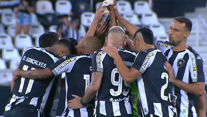 Elenco - Botafogo x Sampaio Corrêa