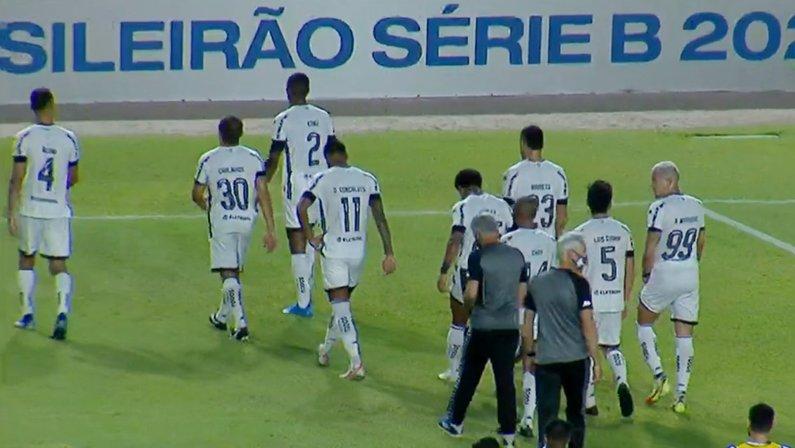 Elenco (jogadores) em CSA x Botafogo | Série B do Campeonato Brasileiro 2021