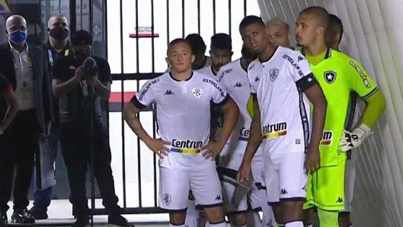 Elenco (jogadores) em Vitória x Botafogo   Série B do Campeonato Brasileiro 2021