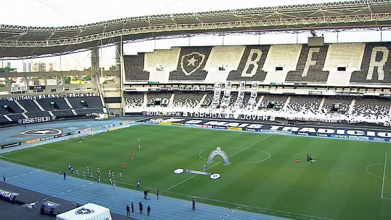 Estádio Nilton Santos - Botafogo x Náutico