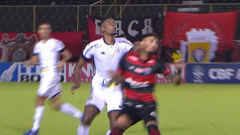 Expulsão de Kanu - Vitória x Botafogo