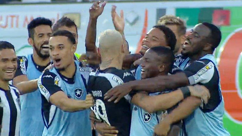 Gol de Rafael Navarro em Botafogo x Náutico   Série B do Campeonato Brasileiro 2021