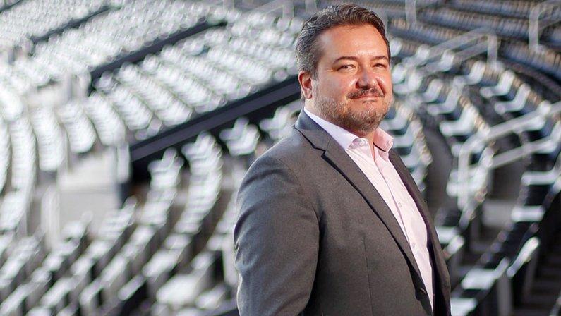 Jorge Braga, CEO do Botafogo, em 2021