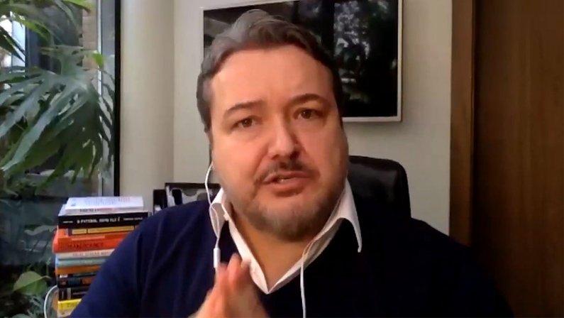 Jorge Braga, CEO do Botafogo, em entrevista ao UOL Esporte