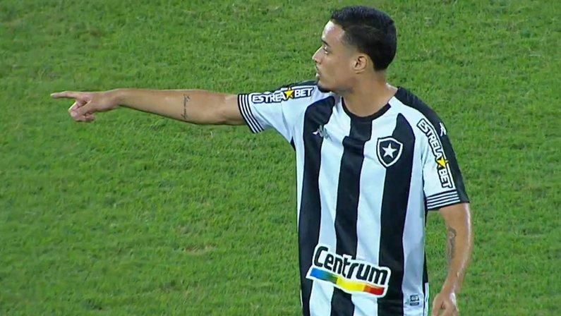 Luiz Henrique em Botafogo x Náutico   Série B do Campeonato Brasileiro 2021