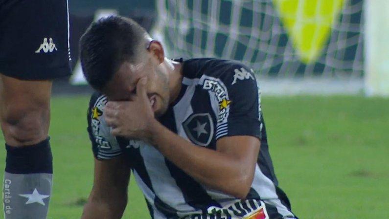 Marco Antônio em Botafogo x Náutico   Série B do Campeonato Brasileiro 2021