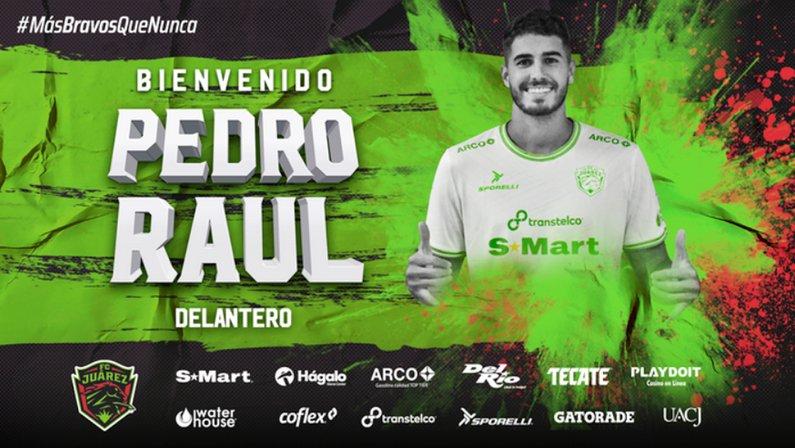 Ex-Botafogo, Pedro Raul é anunciado pelo Juárez, do México