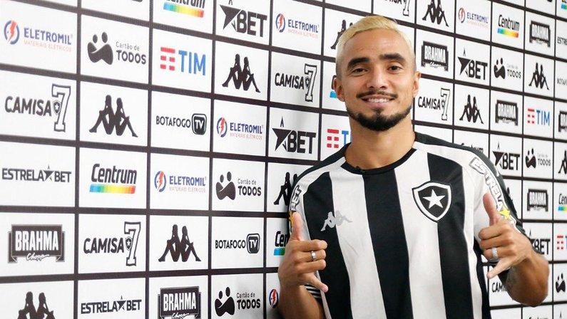 Apresentação oficial de Rafael no Botafogo