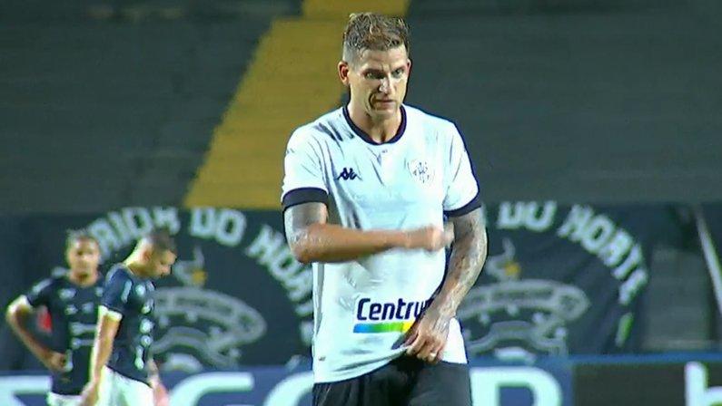 Rafael Moura em Remo x Botafogo | Série B do Campeonato Brasileiro 2021