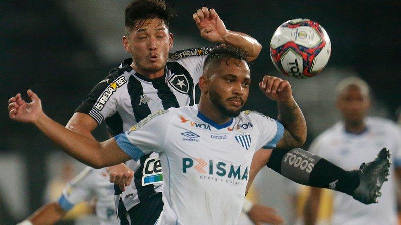 Luís Oyama - Botafogo x Avaí