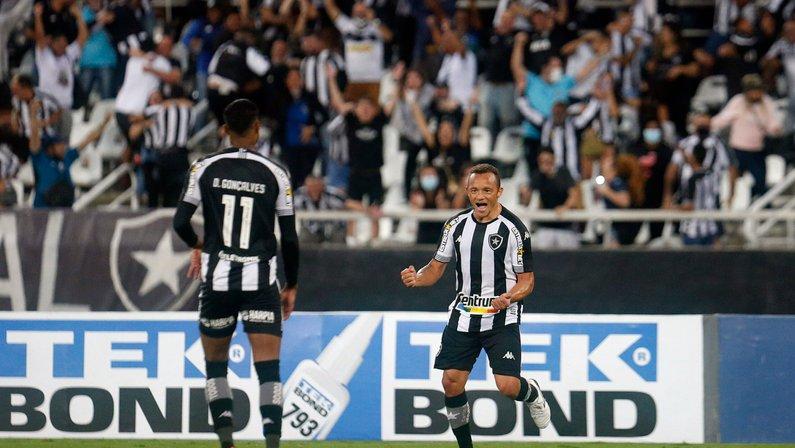 Carlinhos e Marco Antônio representam o Botafogo na seleção da galera da 29ª rodada da Série B
