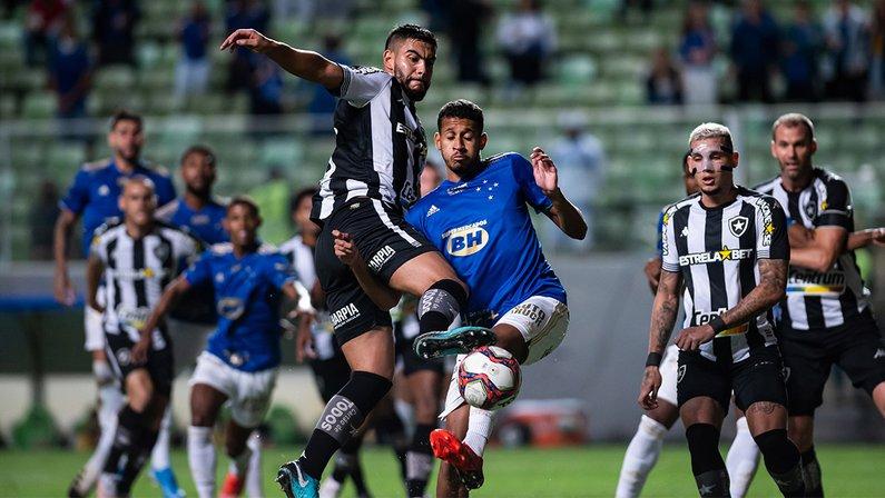 Barreto - Cruzeiro x Botafogo