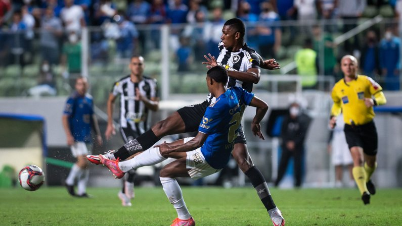 Kanu - Cruzeiro x Botafogo
