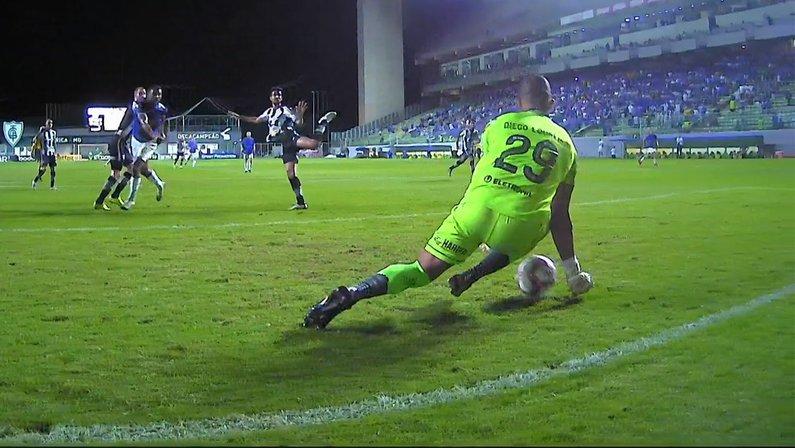 Diego Loureiro - Cruzeiro x Botafogo