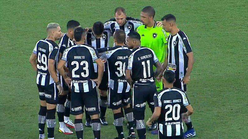 Elenco - Botafogo x Avaí
